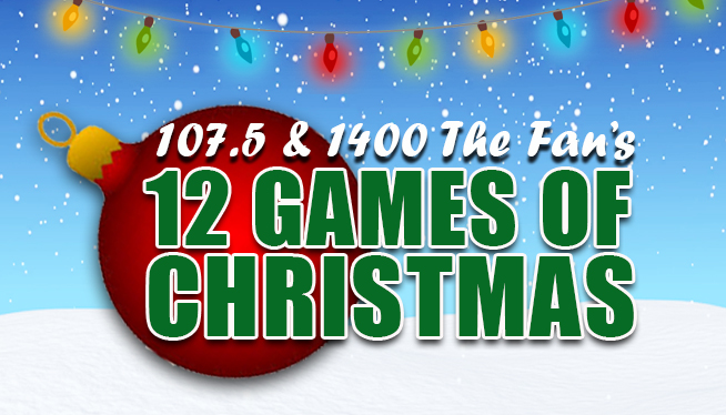 The Fan's 12 Games of Christmas