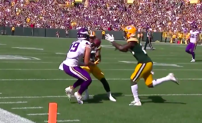 Packers, Vikings score the same amount of points