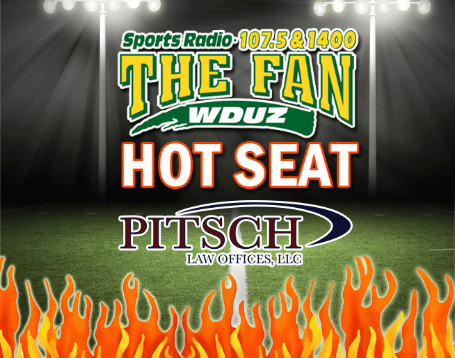 The FAN Hot Seat is warming up and you could win a 65″ TV!