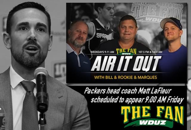 """Air it Out"" with Matt LaFleur"