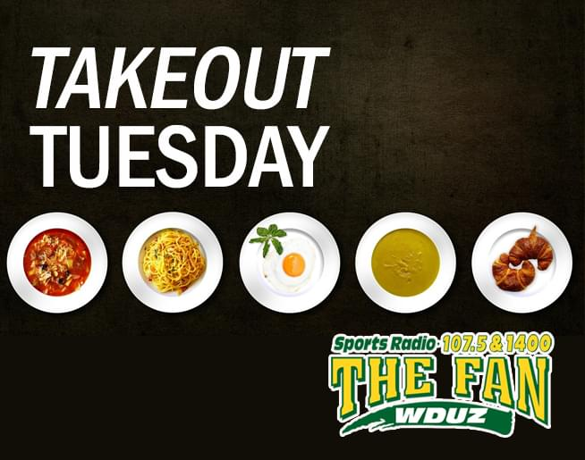 Take Out Tuesday with The Fan!