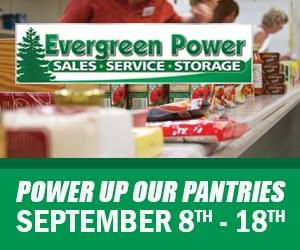"""Fan and Evergreen Power are """"Powering Up Our Pantries"""""""