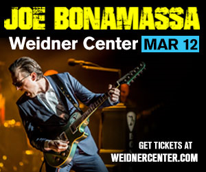 Joe Bonamassa is coming to the Weidner Center with The Big Dog!