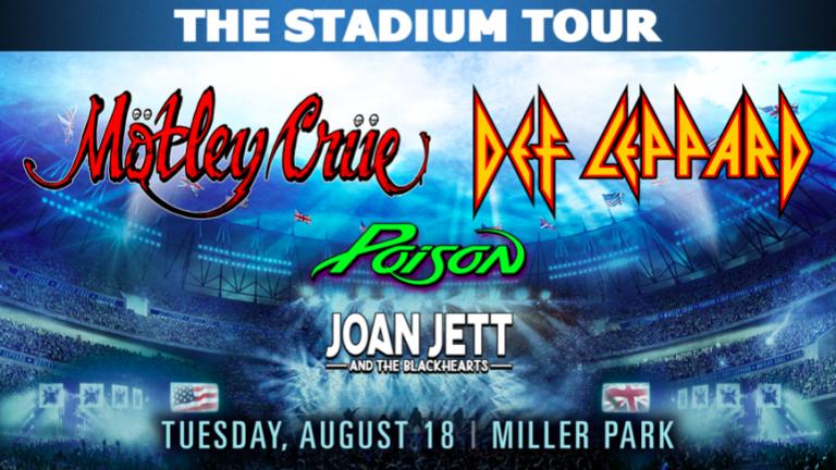 Mötley Crüe & Def Leppard at Miller Park