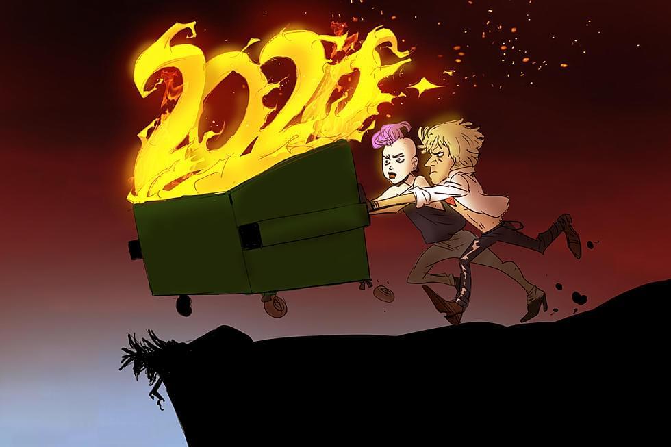 "We're gonna KISS 2020 ""Goodbye""!"