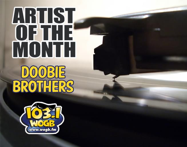 The WOGB Artist of the Month for June….The Doobie Brothers!