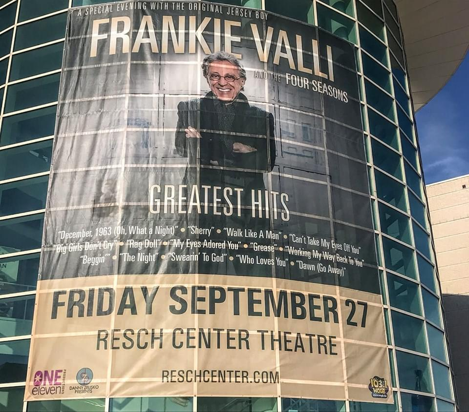 "Friday Night with Frankie Valli and the Four Seasons was ""Oh, What A Night"" at the Resch with WOGB!"