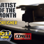 WOGB and Foreigner, our Artist of the Month!