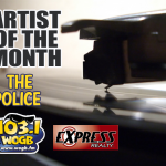 The WOGB Artist of the Month for March is The Police!