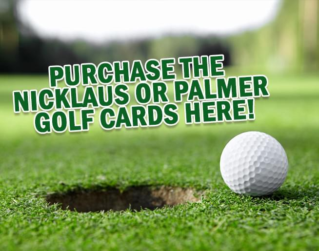 Golf Card is ON-SALE Now!