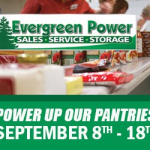 WOGB and Evergreen Power are Powering Up Our Pantries!