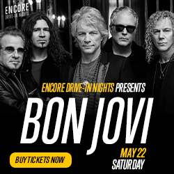 Bon Jovi is Coming….To the Drive In's in Northeast Wisconsin!!!!