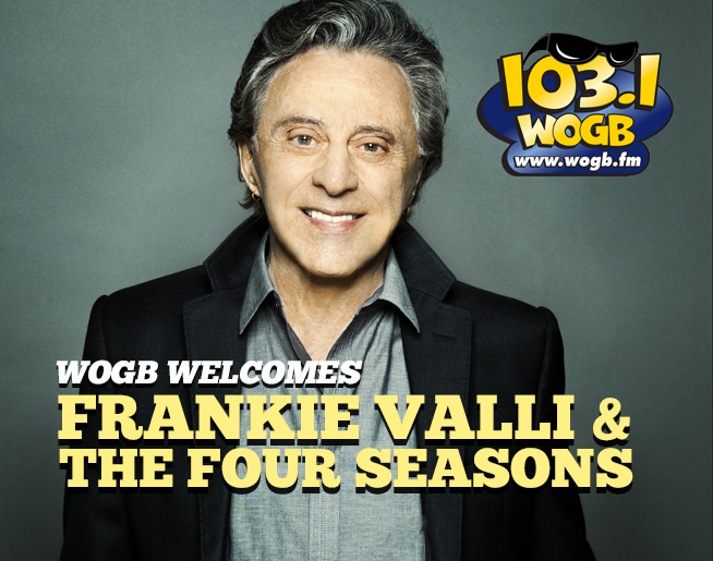 Frankie Valli and The Four Seasons are coming back to Green Bay!