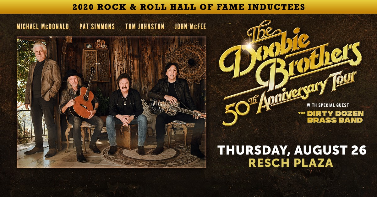 The Doobie Brothers are coming to GREEN BAY!