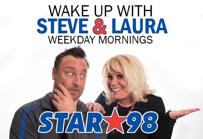 This is how we start our day!  The Steve and Laura Way!