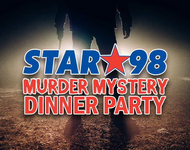 Steve and Laura's Murder Mystery Dinner Party is SOLD OUT!