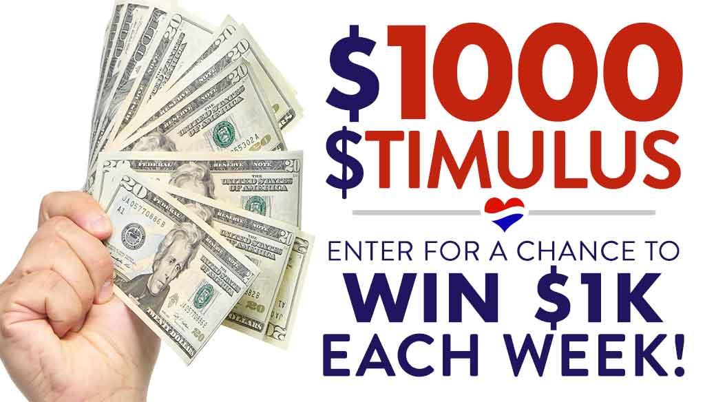 1000 Dollar Stimulus