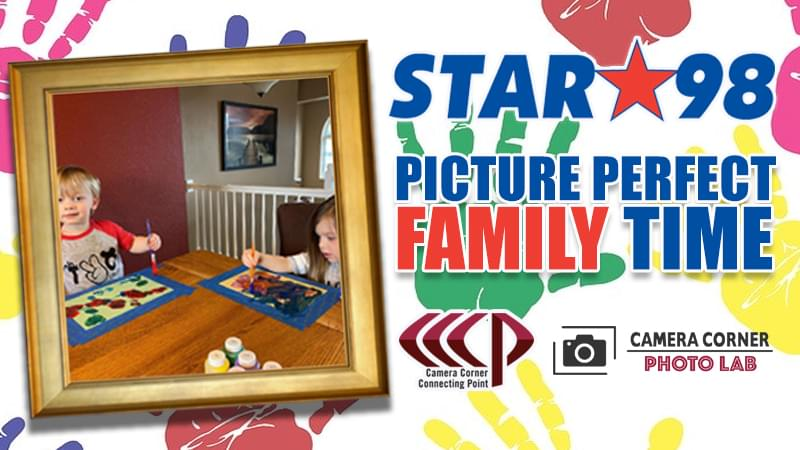 Star 98 and Camera Corner Connecting Point present Picture Perfect Family