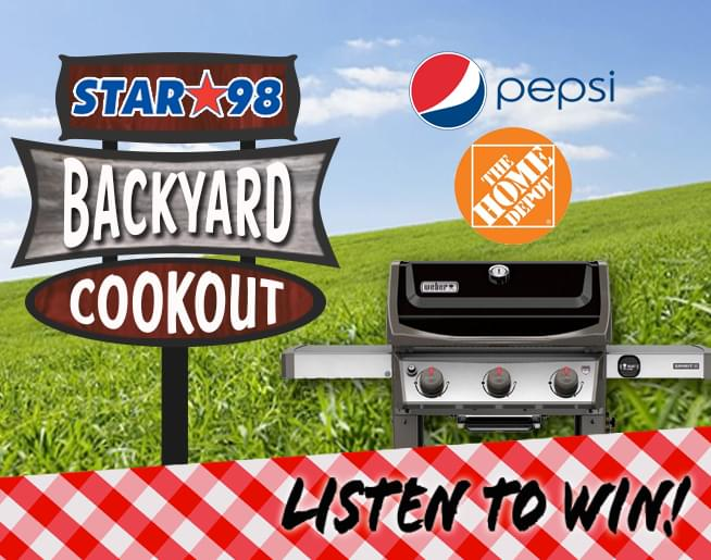 Congrats to Gerald of DePere…Winner of a grill and Pepsi and Summer Fun with Star 98!