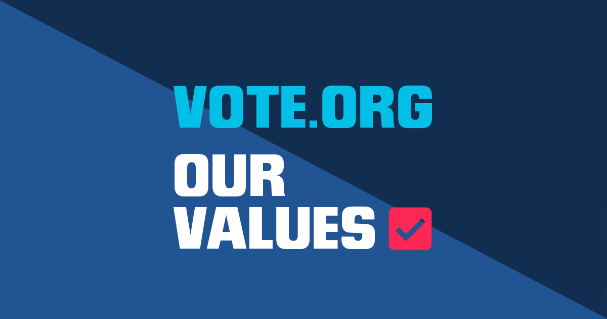 Register to Vote, Absentee Ballot, & Election Reminder