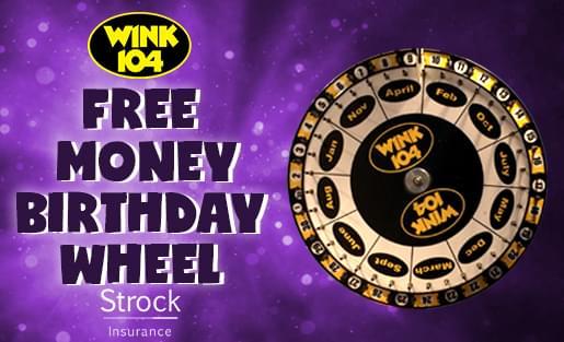 Free Money Birthday Wheel