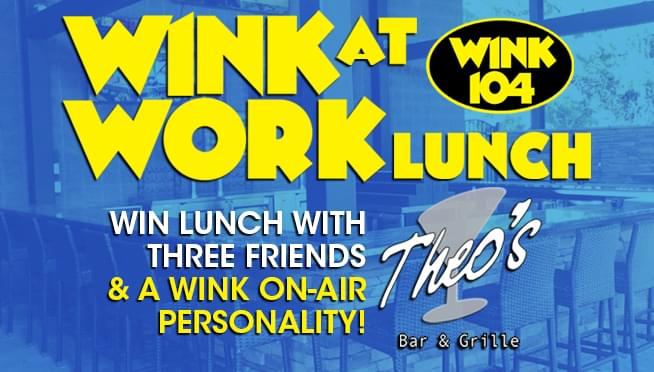 WINK at WORK Lunch at Theo's Bar & Grille