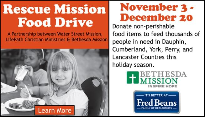 Rescue Mission Food Drive
