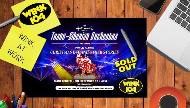 WINK at WORK TSO Ticket Giveaway