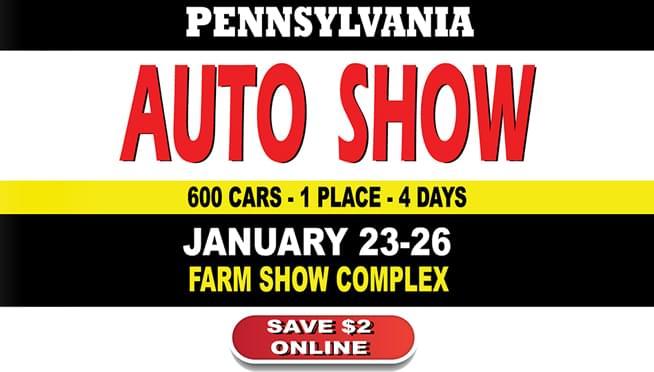 The 2020 Pennsylvania Auto Show is January 23-26