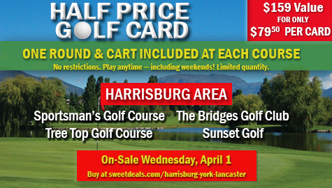 golf card promo