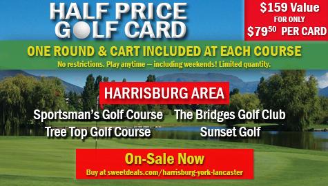 On Sale Now – Half Price Golf Card
