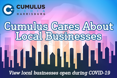 cumulus cares about local businesses graphic