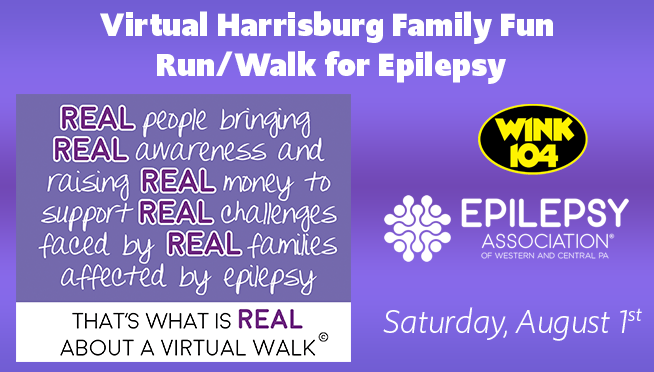 Virtual 2020 Senators Family Fun Run/Walk for Epilepsy