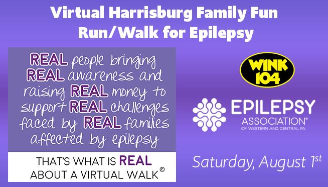 Virtual 2020 Senators Family Fun Run/Walk for Epilepsy