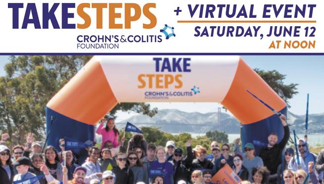 Take Steps Virtual Event – June 12, 2021