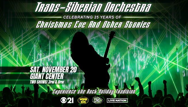 Trans Siberian Orchestra Weekend Ticket Giveaway