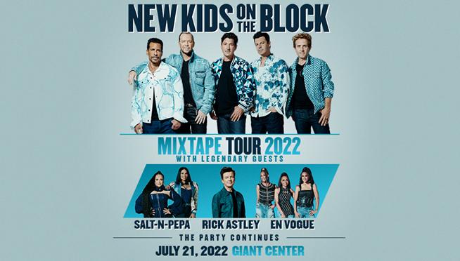 New Kids On The Block – MIXTAPE 2022 Tour