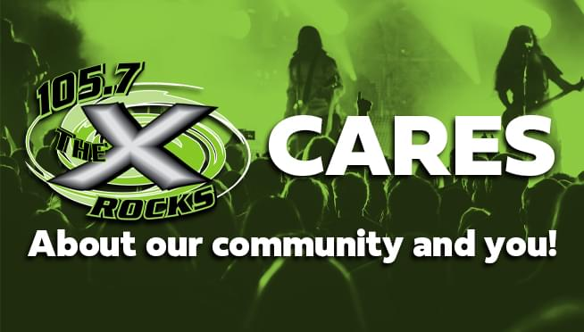 105.7 The X CARES