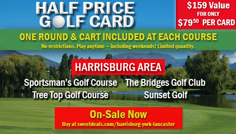 On Sale Now – Half Price Golf Card