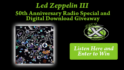 Led Zeppelin III 50th Anniversary Special and Giveaway