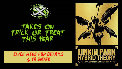 Linkin Park Hybrid Theory Trick or Treat Giveaway