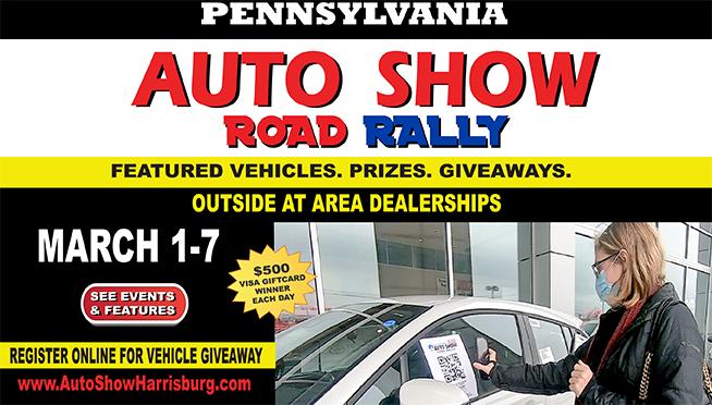 The Pennsylvania Auto Show Road Rally