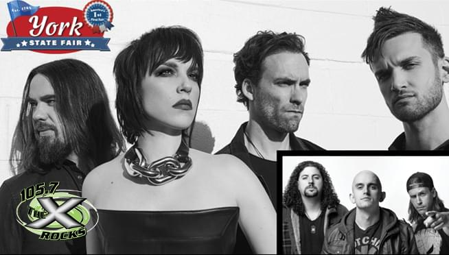 HALESTORM at the York State Fair – July 30, 2021