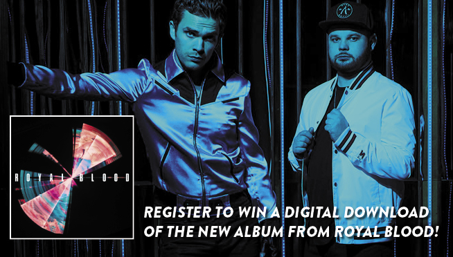 "Royal Blood – ""Typhoons"" Digital Download Giveaway"