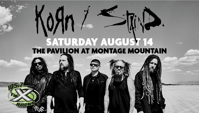 KORN / STAIND Concert at Montage Mountain August 14, 2021