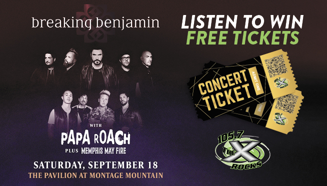 Breaking Benjamin / Papa Roach Ticket Giveaway