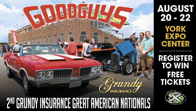 Good Guys 2nd Grundy Great American Nationals Ticket Giveaway