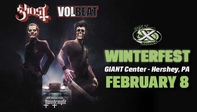 X WinterFest with Ghost & Volbeat