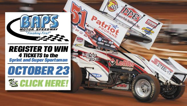BAPS Motor Speedway Ticket Giveaway