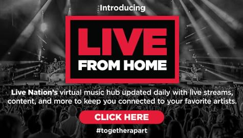 Live From Home – Daily Live Stream Concerts